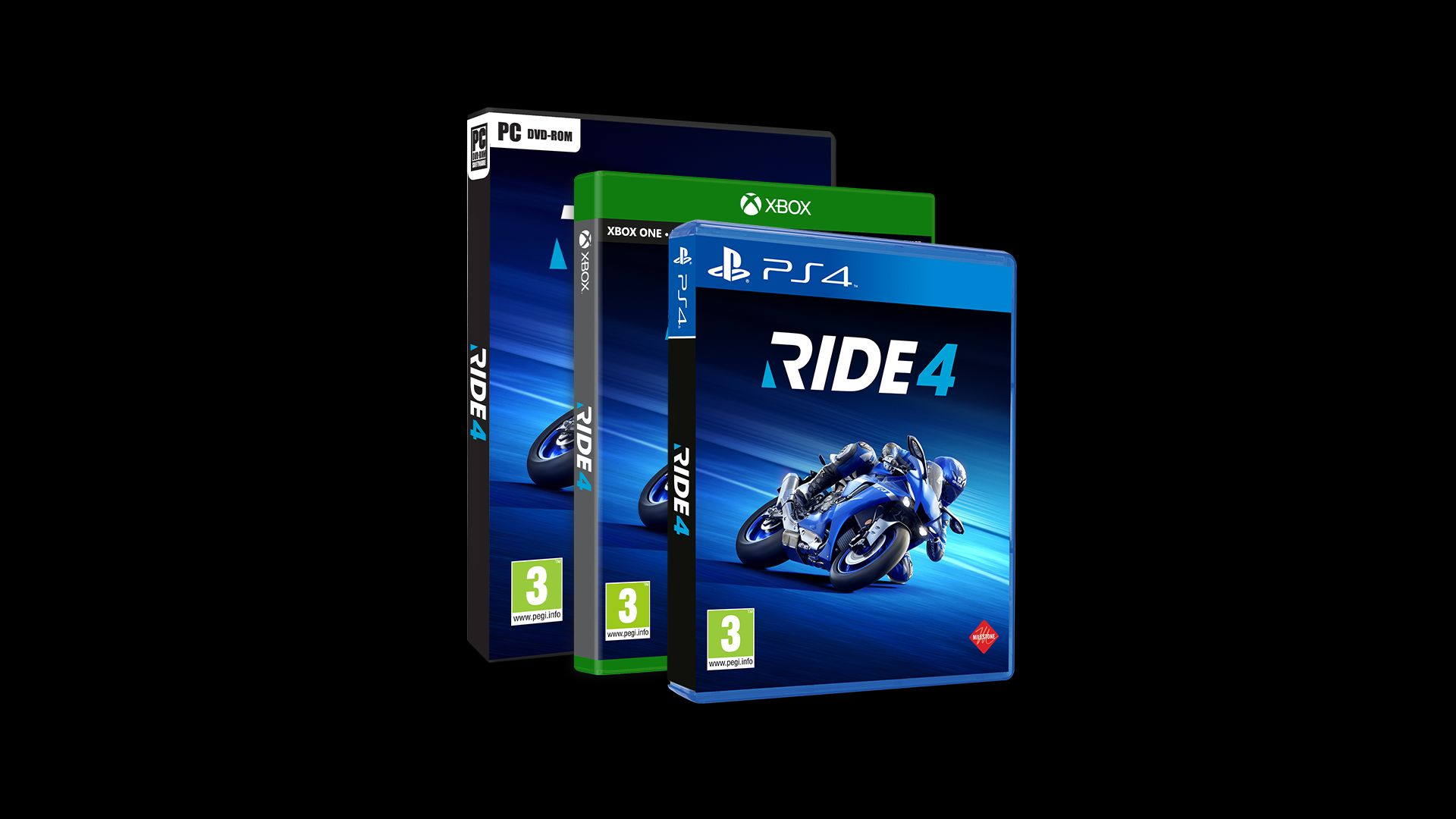 Ride 4 XBOX One, PS4 a PC